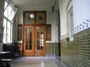 Singel 222, Dordrecht. Ateliergebouw.