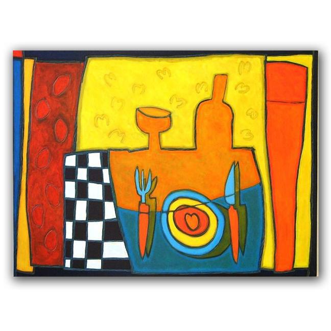 Corazón, paneel, 110x150 cm, 2009. Diana van Hal.