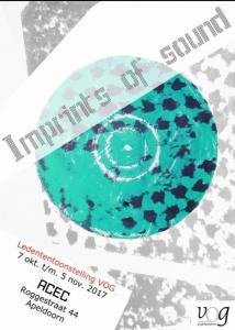 The imprint of sound. Tentoonstelling over de invloed van muziek op het werk van de kunstenaar. Diana van Hal. Linoleumsnede