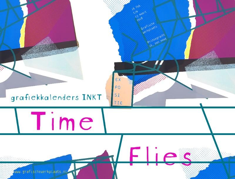 Expo Time Flies met grafiekkalenders van INKT